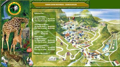 Taman Safari Indonesia I di Cisarua - Bogor