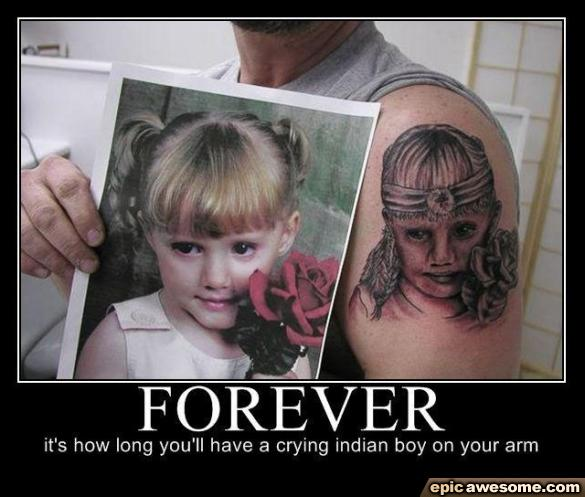Tattoo Artist Fail