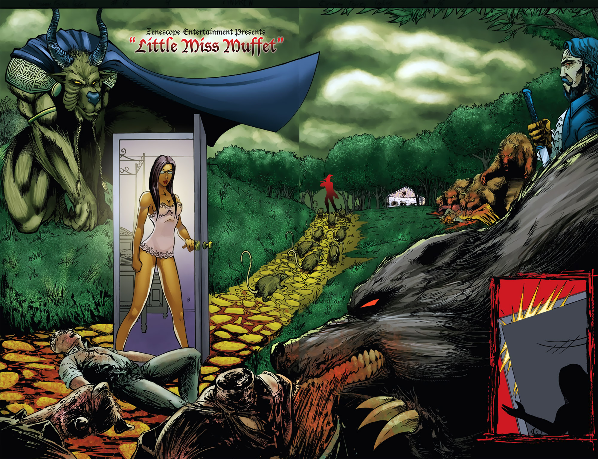 Grimm Fairy Tales (2005) Issue #16 #19 - English 6