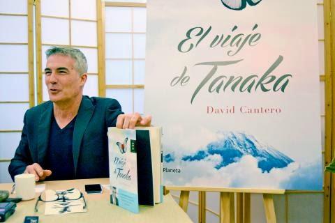 novela el viaje de tanaka escritor david cantero