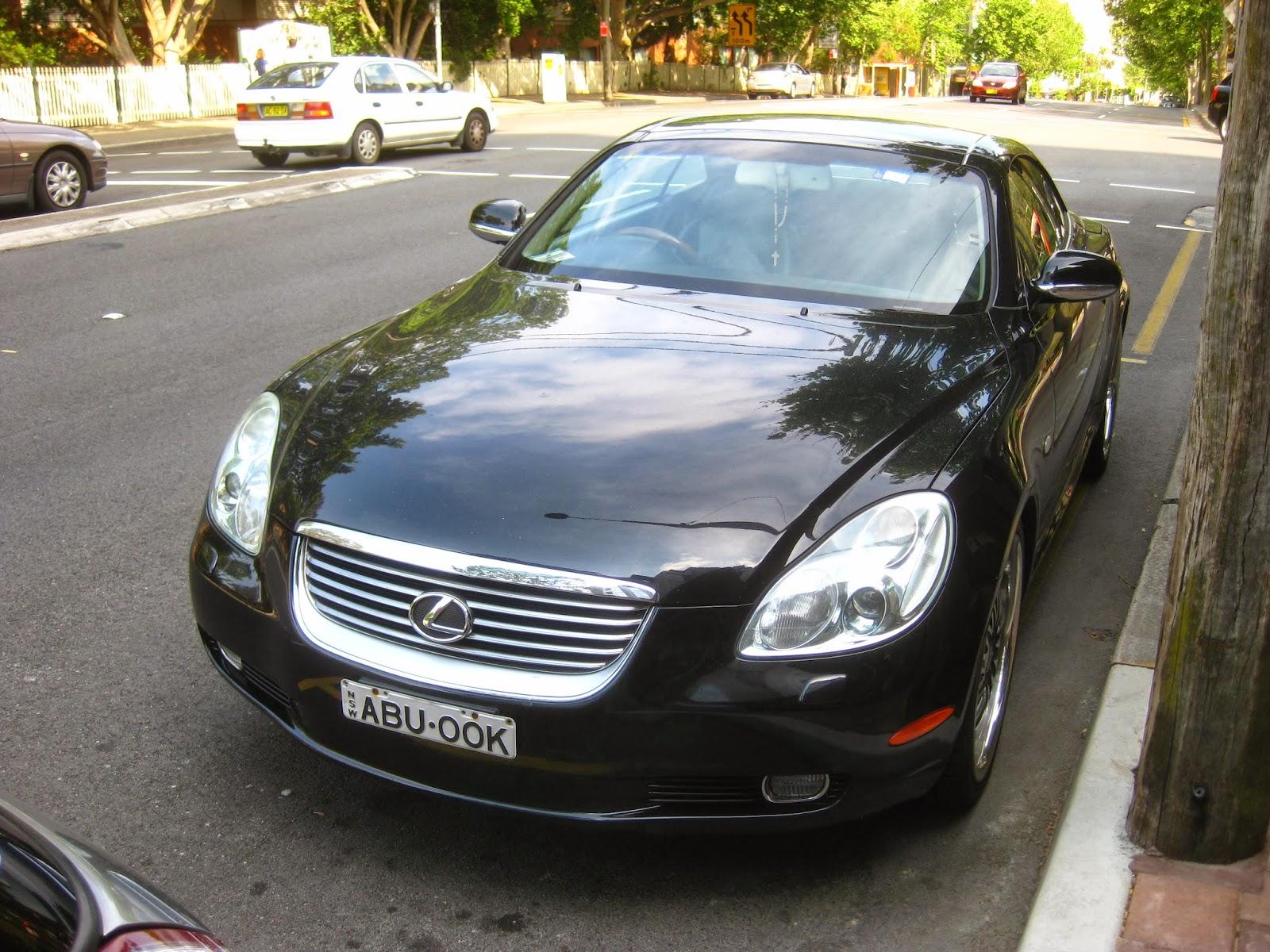 Aussie Old Parked Cars 2001 Lexus Sc 430
