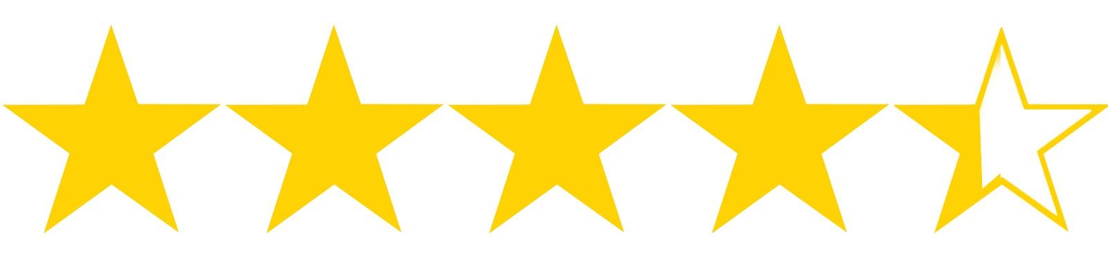 Image result for star 4.25 stars