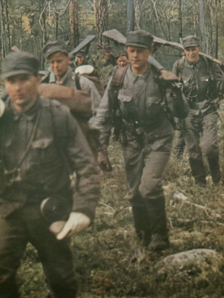 Цветные фото второй мировой войны