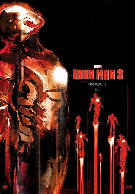 Iron Man 3: poster IMAX y clips en español