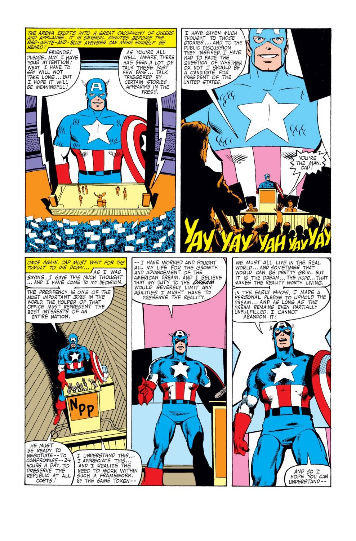 Captain America (1968) Issue #250 #165 - English 17