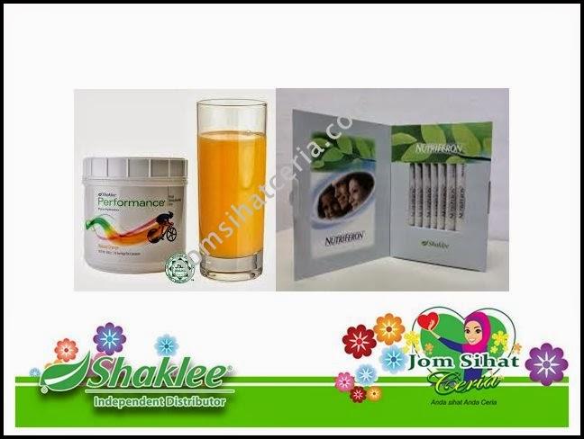 Nutriferon, Performance Drink, Produk SHAKLEE, Pengedar Shaklee Kuantan, Kongsi, Cabaran,