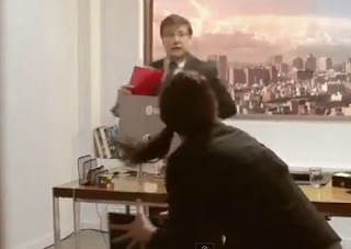 broma de meteorito en un televisor de lg