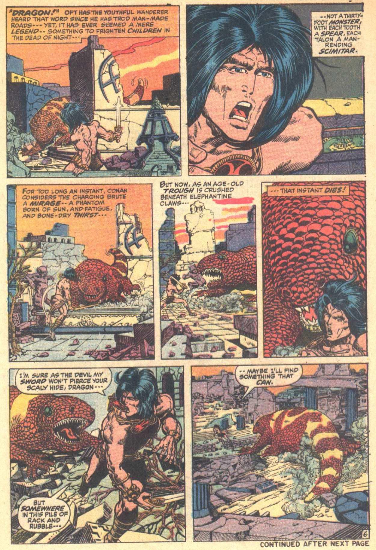 Conan the Barbarian (1970) Issue #8 #20 - English 7