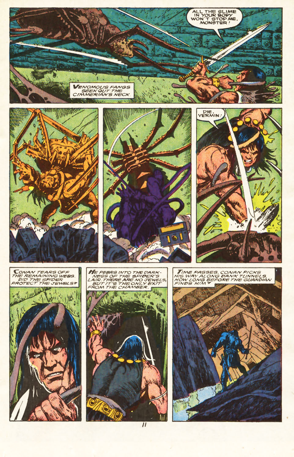 Conan the Barbarian (1970) Issue #217 #229 - English 9