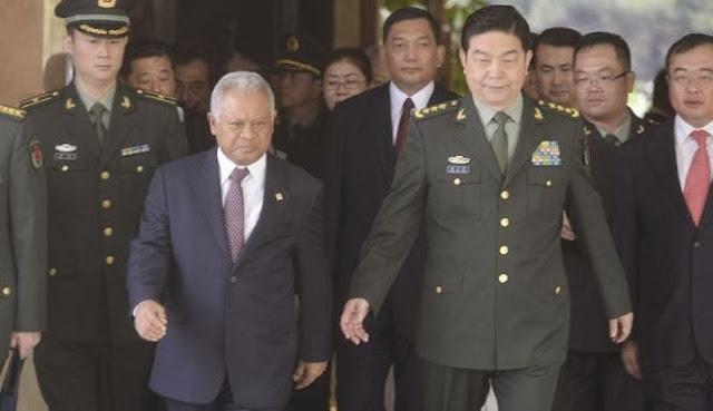 China Tawarkan Berbagai Kerja Sama Militer Kepada Indonesia