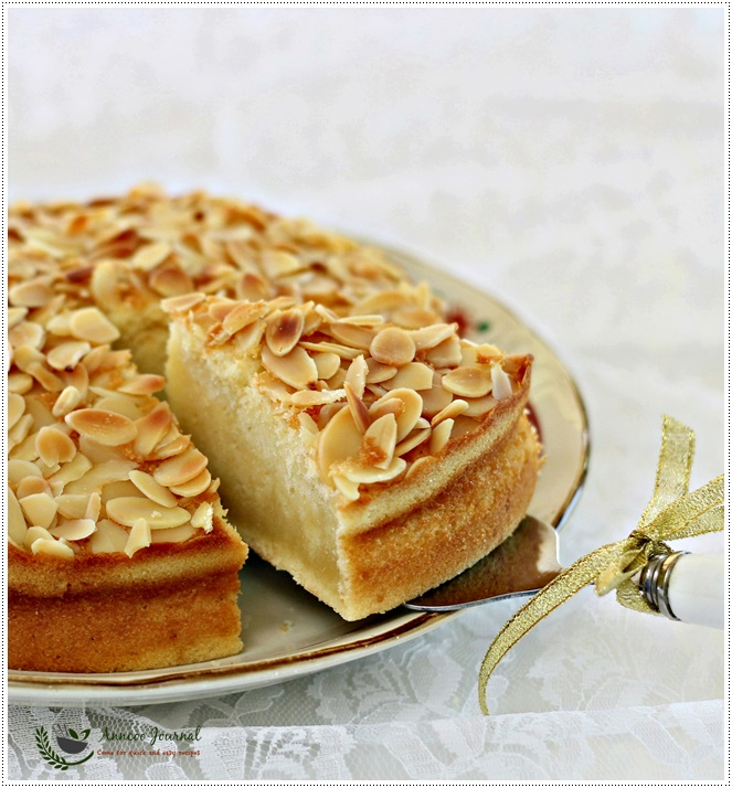 Almond Cake 杏仁蛋糕 | Anncoo Journal - Come for Quick and Easy ...