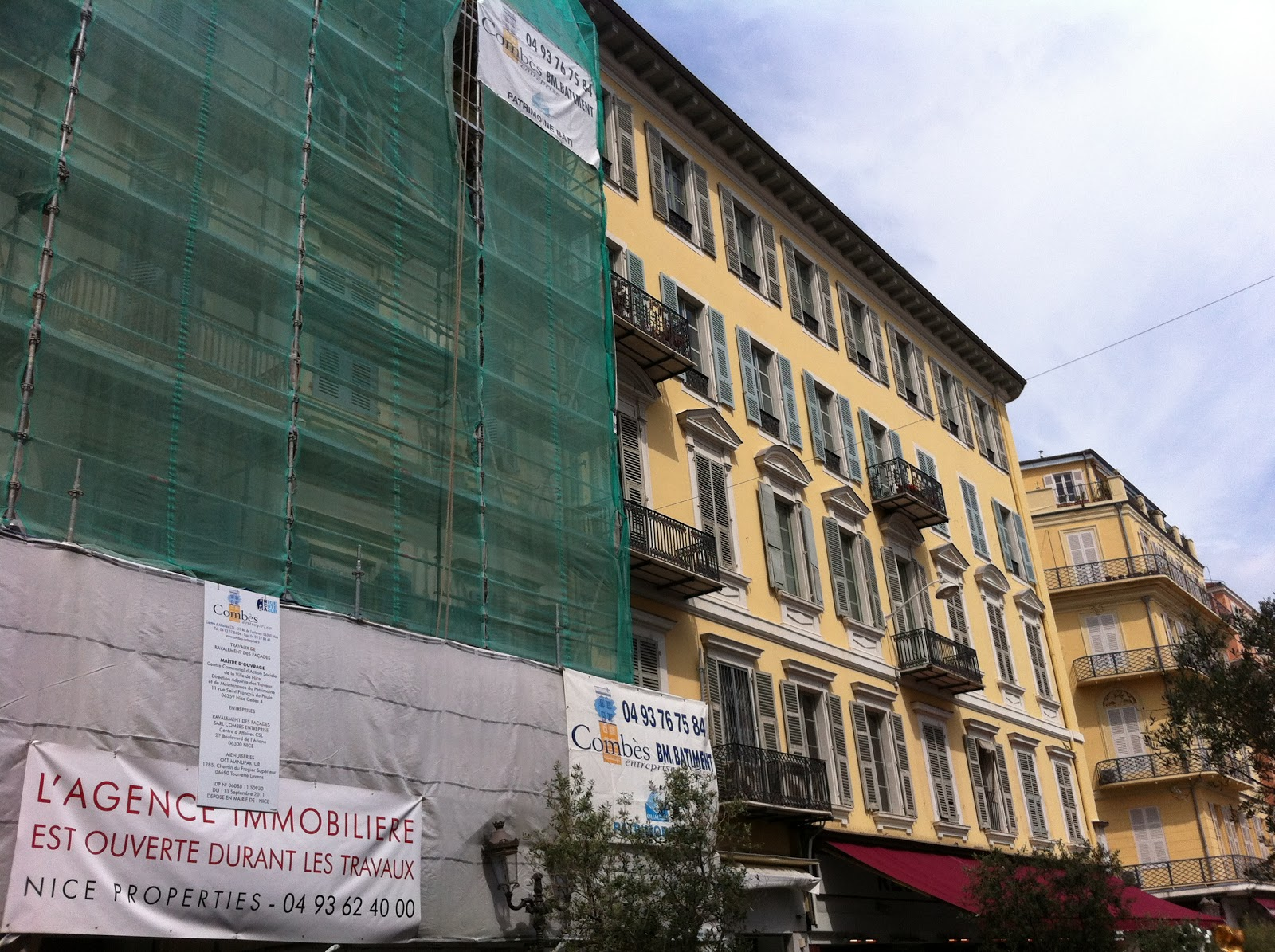Agence immobili re nice les travaux de copropri t for Agence immobiliere 5 promenade nice