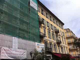 Rénovation de façade d'un immeuble à Nice