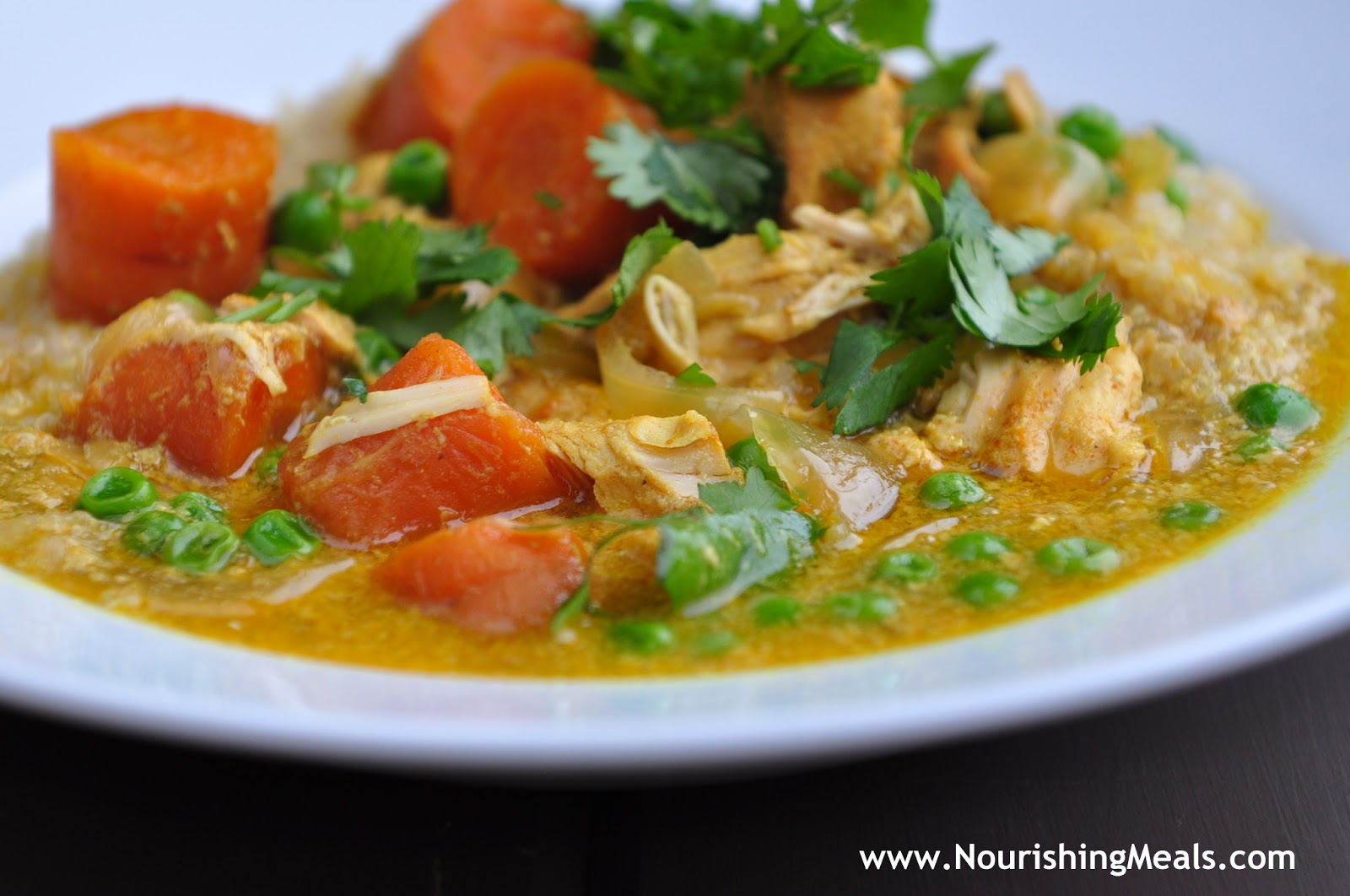 Nourishing Meals®: Simple Slow-Cooked Chicken Curry