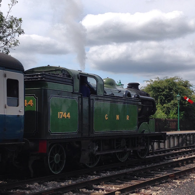 Steam Train at Epping & Ongar Railway