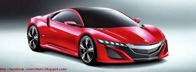Couverture pour facebook Honda NSX 2014