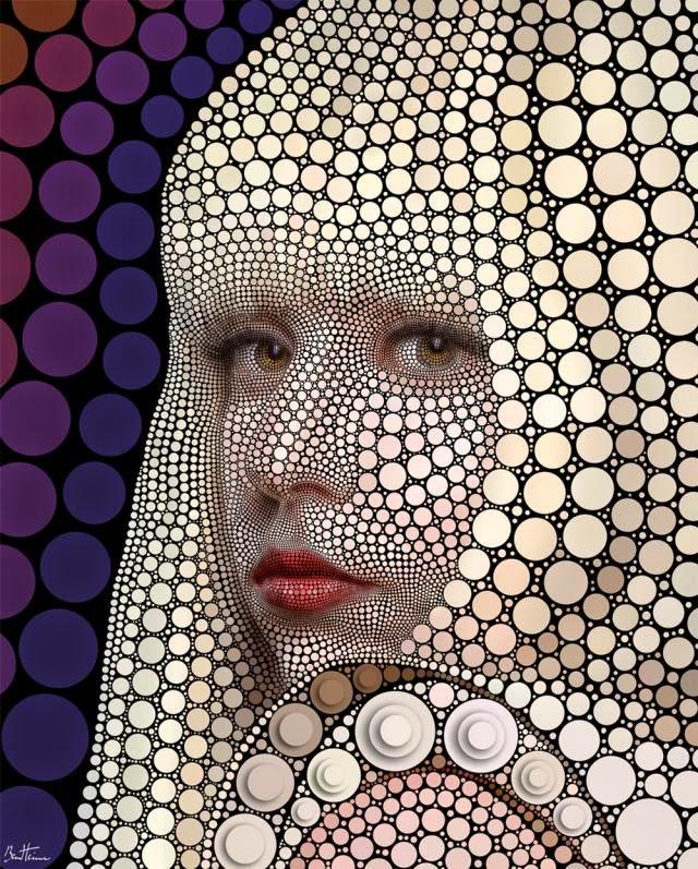 Benjamin Heine, Digital Circlism, Lady Gaga