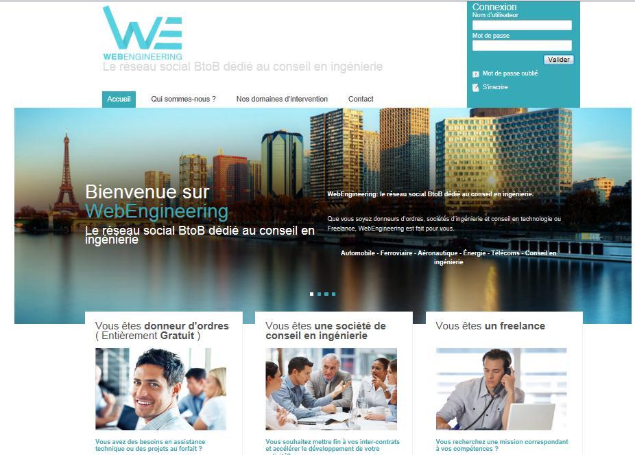 panorama du net  webengineering la plateforme de mise en