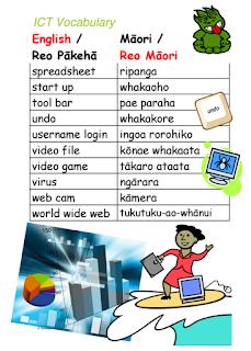 Maori ICT poster