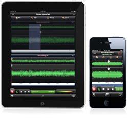 iPad Audio Editing App
