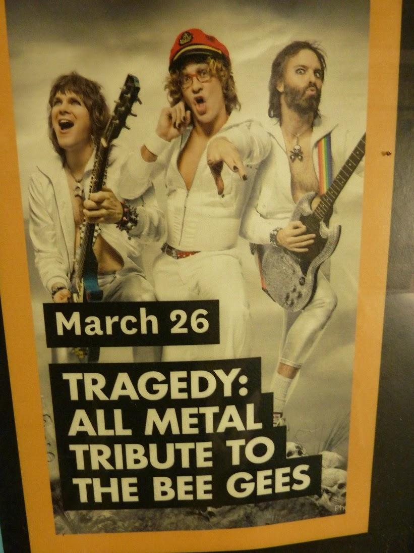 Tribute To The Bee Gees And Beyond During My Trip States Last Year I Was Simultaneously Chuffed Gutted Stumble Upon This Poster Only