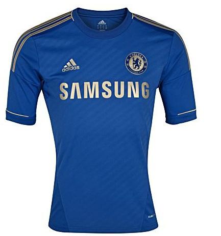 Camiseta Chelsea 2012-2013 - Chelsea Home Kit blue 2012-2013
