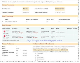 Booking Tiket Pesawat