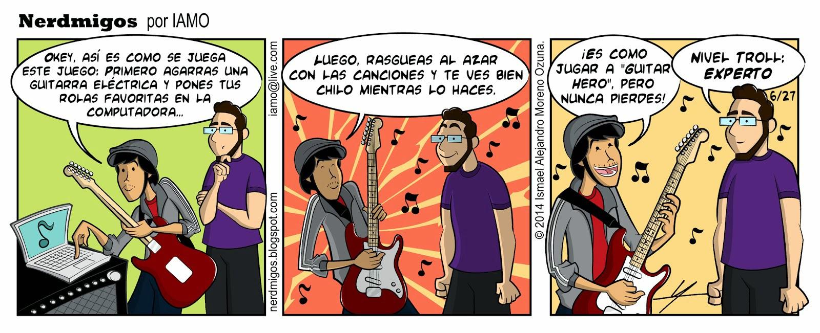 Nerdmigos Unplugged Juego de Música por IAMO