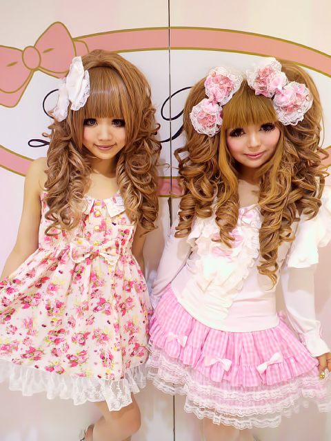 lolita hairstyle
