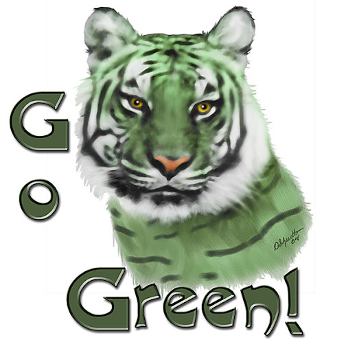 Go Green! by Doreen Erhardt