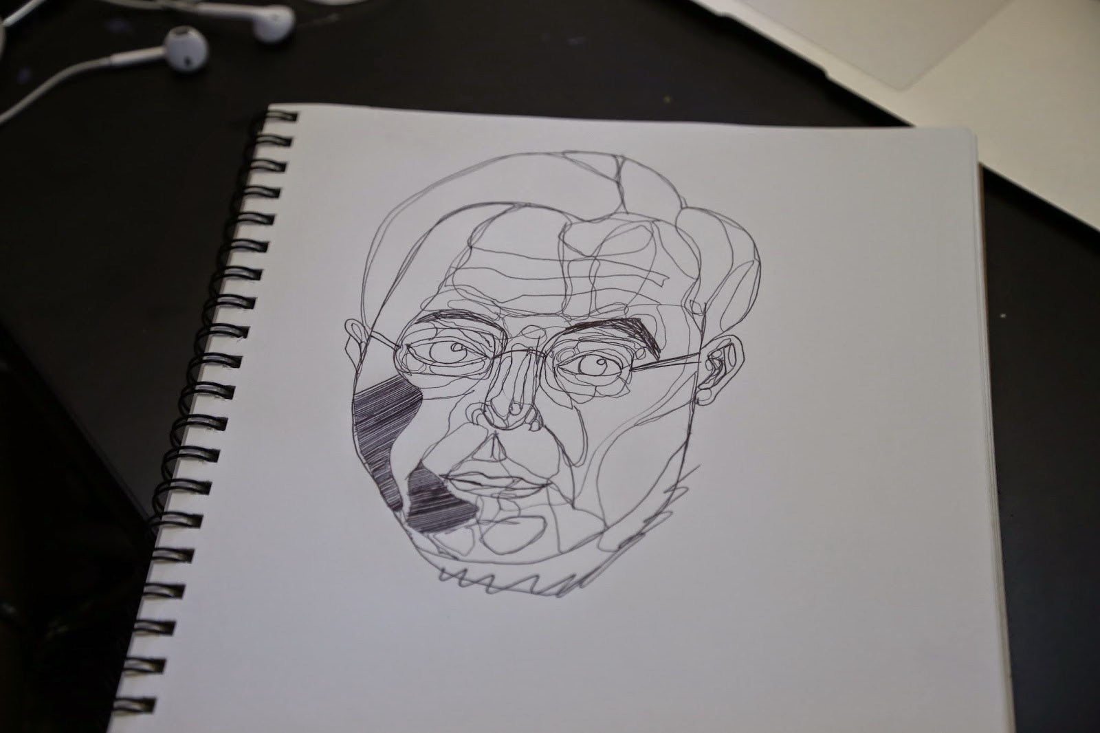 The Line Artist : Grauer art line drawing artist josh bryan inspired internship