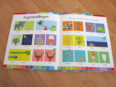 Leuk goedkoop en leerzaam kinderboek met plaatjes