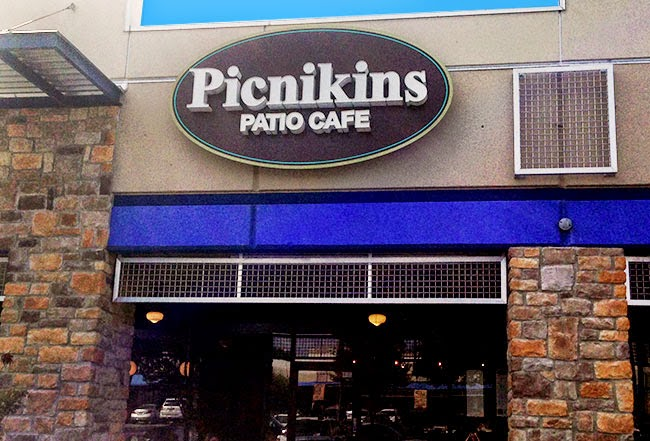 This Is Picnikins Patio Cafe Located Of Off 410 U0026 Blanco Rd. My Husband,  Our Friendu0027s Melissa And Phil, And I Treated Ourselves To A Fantastic Lunch  At This ...