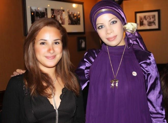 مع الفنانة شيرى عادل عام 2010