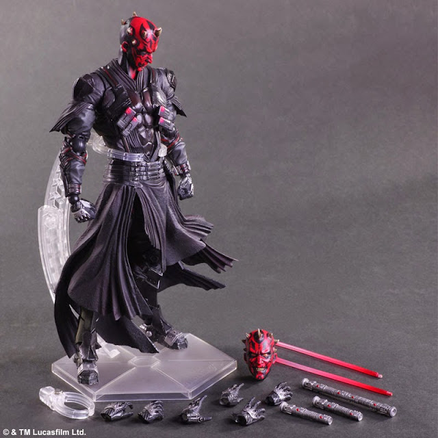 darth maul action figure star wars series
