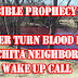 Bible Prophecy Water Turn Blood Red in Wichita neighborhood