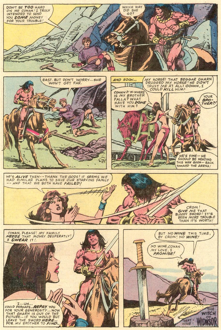 Conan the Barbarian (1970) Issue #132 #144 - English 25