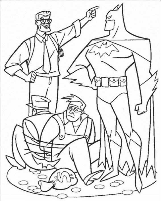 It is an image of Unusual Printable Batman Coloring Pages