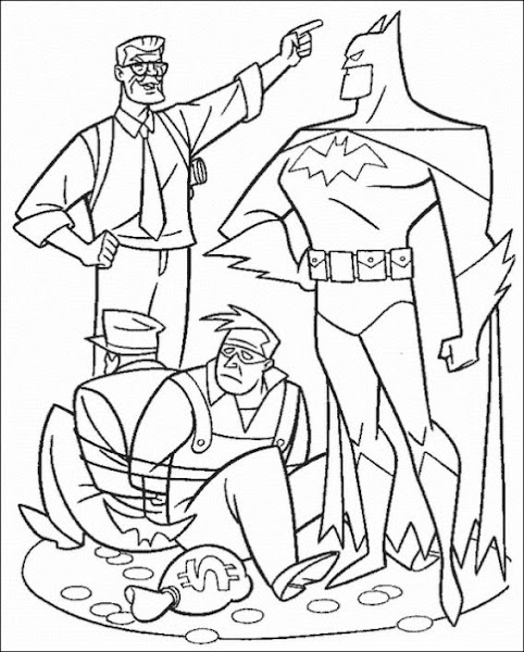 Free Lego Batman Coloring Pages