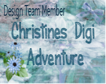 Proud to be on the design team for Christine's Digi adventure