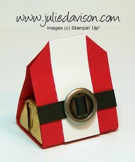 http://juliedavison.blogspot.com/2012/11/video-tutorial-tag-punch-santa-treat.html