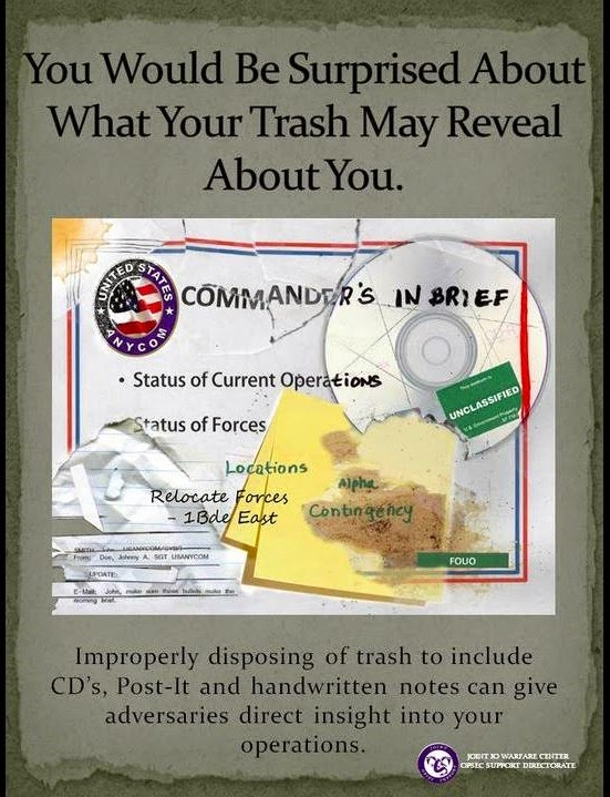 TRASHINT OPSEC Poster