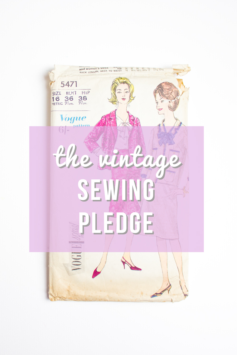2015 vintage sewing pledge