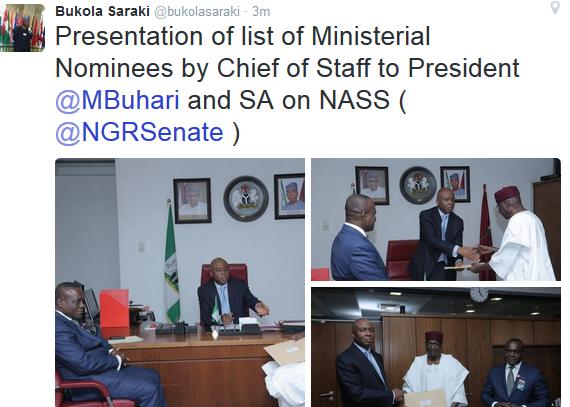 Nigeria Ministerial list,Ministerial list,Ministerial list Nigeria,