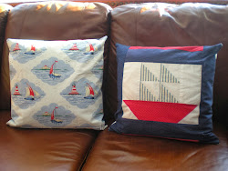 Sailboat Pillows