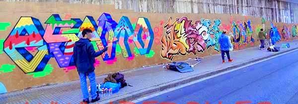 Graffitis Terrassa Esputo