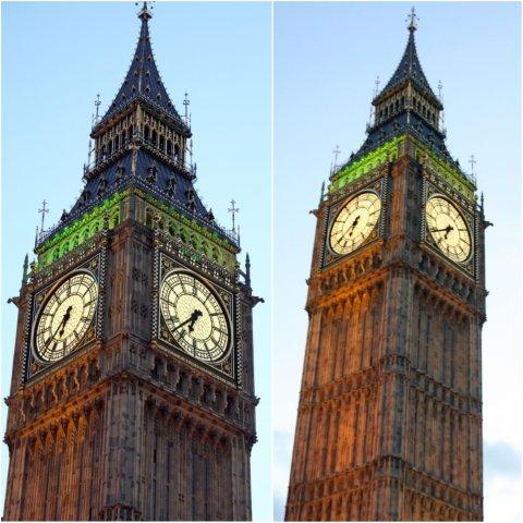 Torre del Rejol Elizabeth Tower Big Ben en Londres