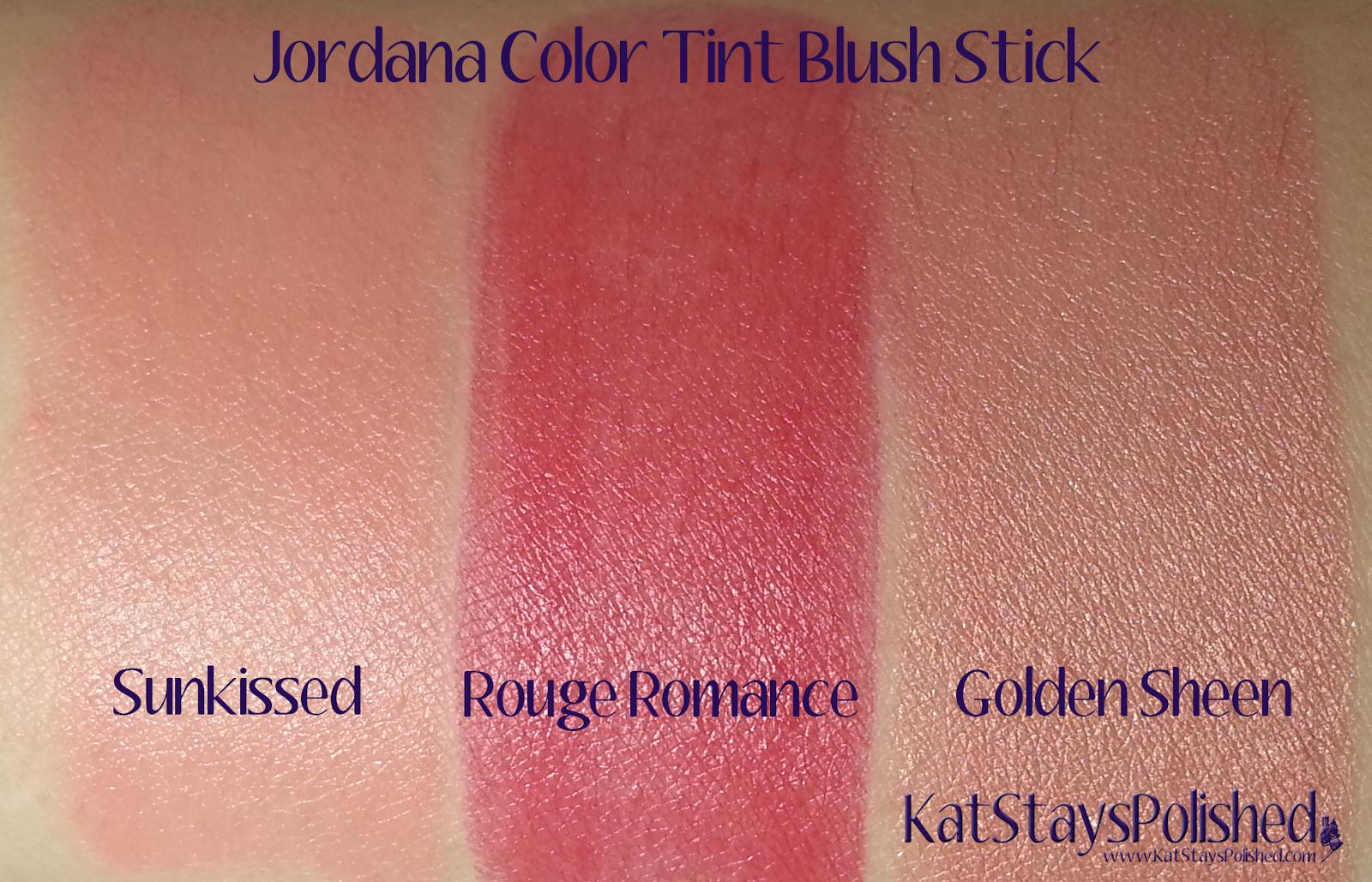 Jordana Color Tint Blush Stick | Kat Stays Polished