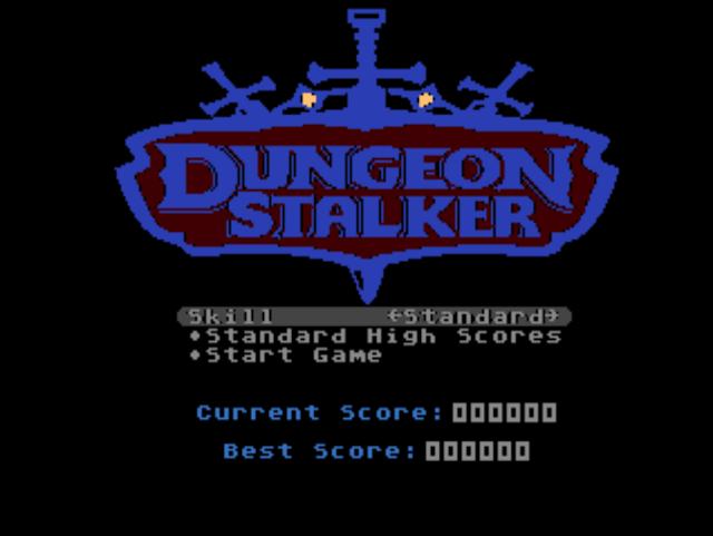Dungeon Stalker, nuevo juego homebrew de Atari 7800 basado en Night Stalker de Intellivision