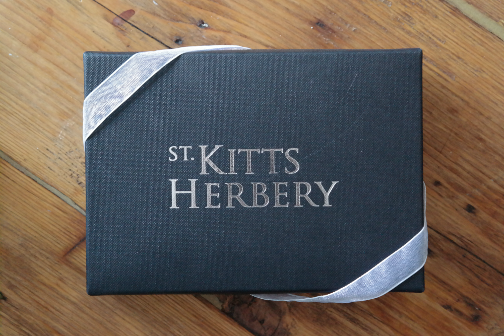 St Kitt's Herbery chocolate box